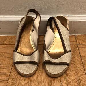 Never worn jcrew espadrille sandals